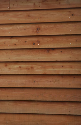 Larch Timber Cladding