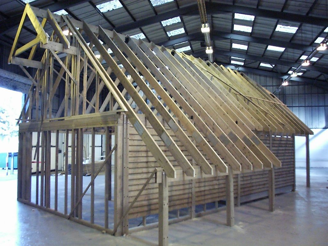 SolidLox Timber Frame Building
