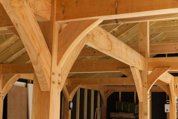 Post, beams and braces