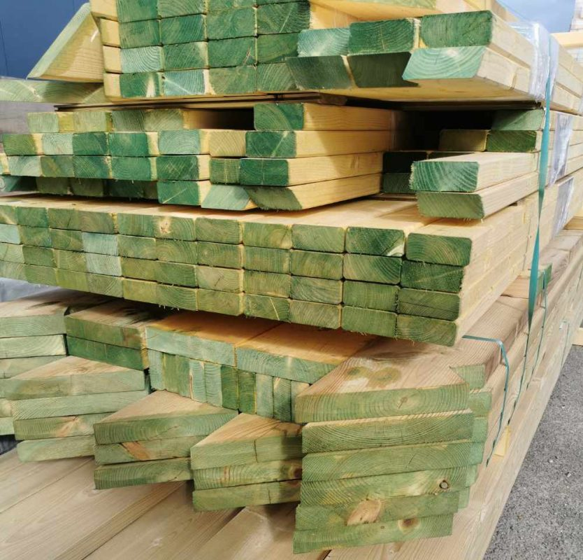 bird mouthed roof timbers